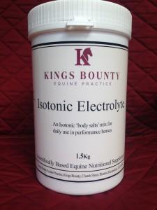 Isotonic electrolyte